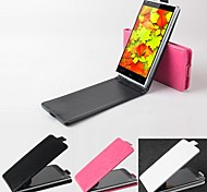 Protective Leather Flip Case Cover for DooGee DG550 up and down Smartphone Phone Cases 3-color