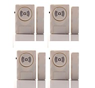 Wireless Door Sensor Alarm 4PCS