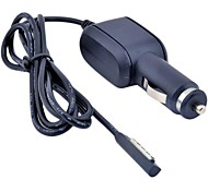 Adaptador de 0,5 m 1,64 pies cargador de coche 12v dc encendedor de superficie Microsoft Windows Tablet PC de envío libre de rt
