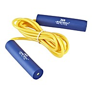 JOEREX® Japan Style Sponge Handle Rubber Jump Rope Blue Yellow