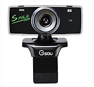 Gsou B18S High Definition UVC Webcam with Microphone for Desktop Computer and Laptop