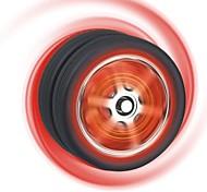 Black Tire Style Ball Bearing GPPS & PVC  Light Up Yoyo Toy