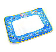 50*70*2cm Kids' Aquadoodle Water Drawing Board Magic Pen Novelty Toys with Paintings of Bus(Plastic Package)