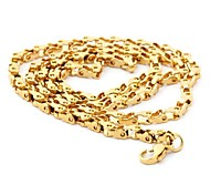 Men's Fashion All Match Titanium Steel Chain Necklace