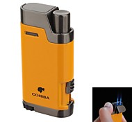 High-Grade Windproof Inflatable Double Flame Lighter