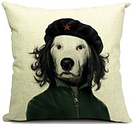 мультфильм прохладно собака хлопок / лен декоративная наволочка