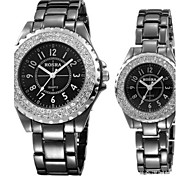 Alloy Quartz Watch Couple's Watch for Women
