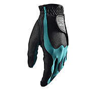 PGM Men's Left Hand Synthetic Leather+Lycra Black+Green High Elastic Magic Golf Gloves-1 Piece