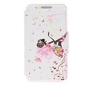 For Nokia Case Card Holder / Flip Case Full Body Case Sexy Lady Hard PU Leather Nokia Nokia Lumia 630