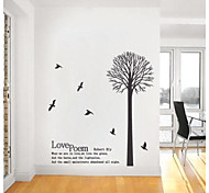 JiuBai™ Love Tree Home Decoration Wall Sticker Wall Decal
