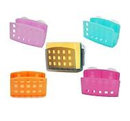 Multi-function Design Plastic With Silicone Racks(Random Colorx1pcs)
