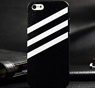 3D White Twill Painting Relievo PC Hard Case for iPhone4/4S