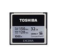 Toshiba 32GB Exceria CF Card R150W120 1000X