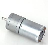 ZnDiy -BRY 16GA-15-round DC 12V 15rpm Geared Motor - Silver