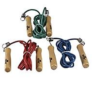 JOEREX® Wood Handle Rubber Jump Rope