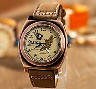 Women's Fashion Retro Old Roman Stamp Watches