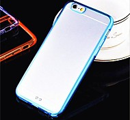 Toophone® JOYLAND Acrylic Epoxy Resin Transparent Thin Phone Sets Back Case for iPhone 6  (Assorted Color)