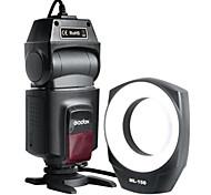 shenniu ml-150 llevó macro anillo de luz de flash para canon / nikon / pentax