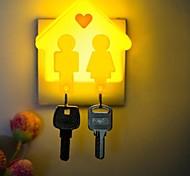 Nuovo Strano catena Cabin chiave di Uomini E Donne Modellismo LED piccola luce di notte