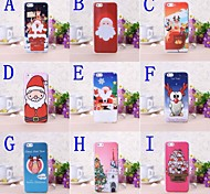 Merry Christmas Series Plastic Hard Cover for iPhone 6