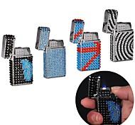 Creative Diamond Metal Lighters Toy (Random Color)