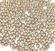 1400pcs 2мм блеск курил топаз цвет стразы для ногтей искусство украшения