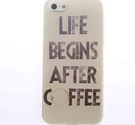 Coffee Design Soft Case for iPhone 4/4S