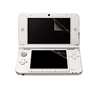 3x top + bottom duidelijke screen protector lcd film guard skin voor nintendo 3ds ll / xl