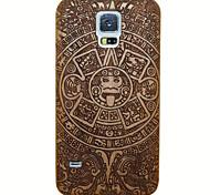 Maya Ciliegio Copertura protettiva di caso Handmade per i9600 Samsung Galaxy S5