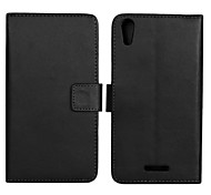 PU Leather Full Body Case with Stand and Card Slot for Sony Xperia T3(M50W)