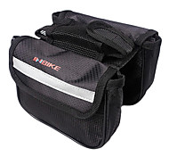 INBIKE Black 420D Cycling Frame Bag Top Tube Bag