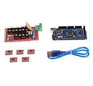 3D Printer Control Board Kit Set(RAMPS 1.4 + 2560 R3 + 4988 Driver)