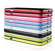 Для Кейс для iPhone 6 / Кейс для iPhone 6 Plus Ультратонкий Кейс для Бампер Кейс для Один цвет Твердый TPUiPhone 6s Plus/6 Plus / iPhone