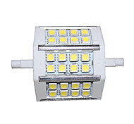 R7S 5 W 24 SMD 5050 330lm LM Cool White Corn Bulbs AC 85-265 V