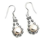 Women's Fashion Classic Retro Brass Earrings Ear Hook Earrings