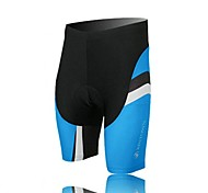 XINTOWN Unisex The High Quality Terylene Cushion Cycling Shorts—Black+Blue