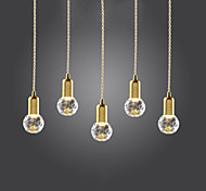 Pendant Light ,  Modern/Contemporary Vintage Gold Feature for LED Mini Style MetalLiving Room Bedroom Dining Room Study Room/Office