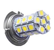 Reallink ® 2pcs / lote de alta calidad H7-5050-27SMD del coche LED Faros de Niebla