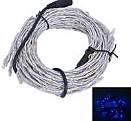 xinyuanyang® Reben Stil 10,8W 180x0603 SMD 900lm blaues Licht flexible LED-Streifen Lampe - Silber + Schwarz (12V)