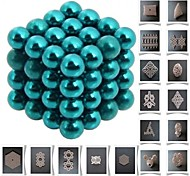 64pcs 5mm DIY Buckyballs and Buckycubes Magnetic Blocks Balls Toys