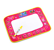 38x48cm Kids' Aquadoodle Water Drawing Board Magic Pen Toys with Paintings of Fruit(Plastic Bag)