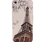 Eisenturm Muster Prägung PC Hard Case für iPhone 5 / 5s