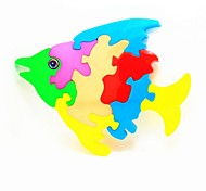 DIY Fish Puzzle Educational Toys for Kids
