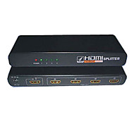 HDMI V1.4 1X4 HDMI Splitter(1 in 4 out)Support 3D 1080P