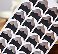 prata diy adesivo protetor de canto da foto (24 adesivos / pcs)