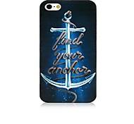 ancoraggio del modello telaio nero posteriore Case for iPhone 4 / 4s