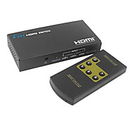 HDMI V1.3 3X1 HDMI Switch(3 in 1 out) Support 3D 1080P