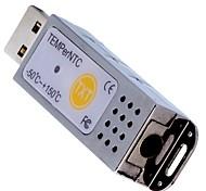 pcsensor® un sensor ntc exterior, mini usb termómetro para interiores&al aire libre / factory / hotel / supermercado temperntc