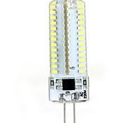 G4 5W 104 SMD 3014 600 LM Warm White / Cool White T LED Bi-pin Lights / LED Corn Lights AC 220-240 V