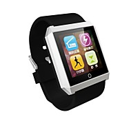 RWATCH R6 Wearable Smartwatch,Compass/Hands-Free Calls/Pedometer/Sleep Tracker for Android/iOS